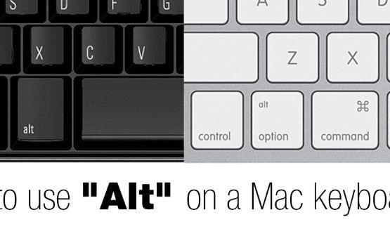 Kí tự đặc biệt ALT icon